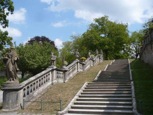 Würzburg 077 - Impressionen - Residenz-Garten