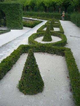 Würzburg 075 - Impressionen - Residenz-Garten