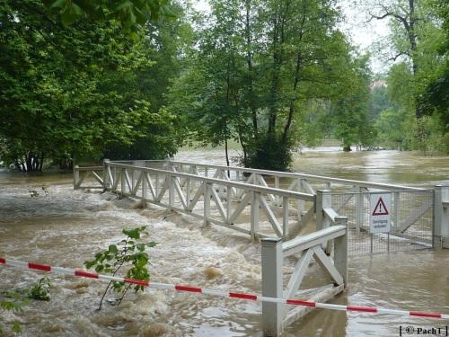Weimar Ilmpark Hochwasser 01.06.13 7