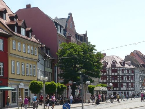 Domplatz_Blick zur Ecke Marktstraße