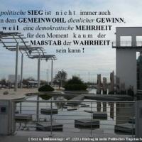 29.07.13 # Gibt es in der POLITIK eine WAHRHEIT ? #