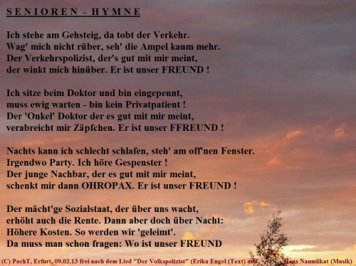 Senioren - Hymne
