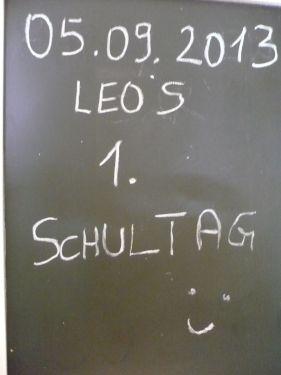 2013.09.05 LEO _ 1.Schultag 01