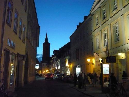 Erfurt Futterstraße Blick ÄgidienKirche 3