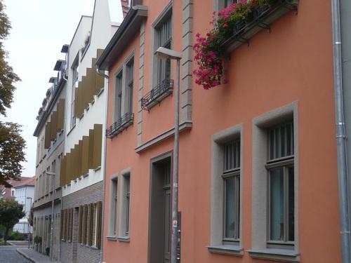 Erfurt Schottengasse _GassenTeilAnsicht