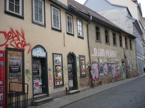 Erfurt Große Arche  TeilAnsicht