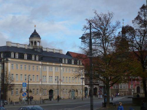 Eisenach  Marktplatz Schloß