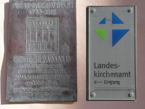 Michaelisstraße Älteste UNI Dtschl. in Erfurt 0