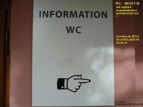 KURIOS 89 Kommunikativer WC-Besuch