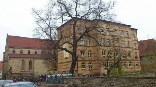 Meister-Eckehart-Str _ Ev.Ratsgymnasium