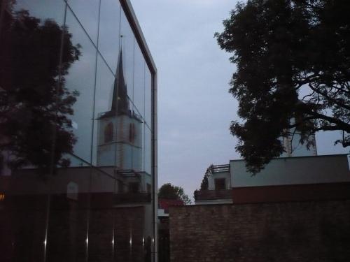 Erfurt Augustinerkloster u. Nikolaiturm
