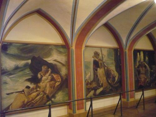 Rathaus Gemälde_ Graf von Gleichen 2