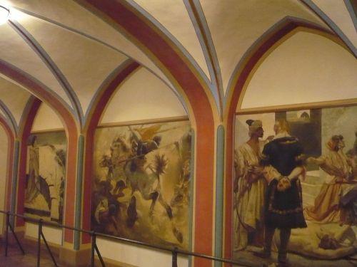 Rathaus Gemälde_ Graf von Gleichen 1