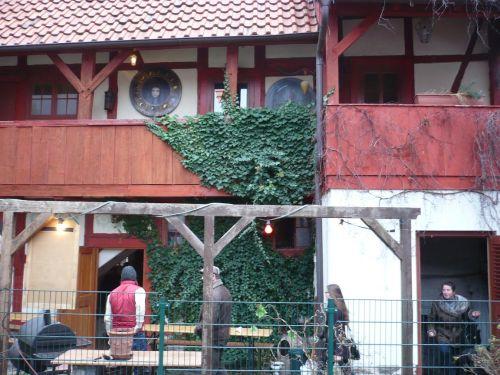 2013 Arnstadt Advent-Impressionen Hinterhof