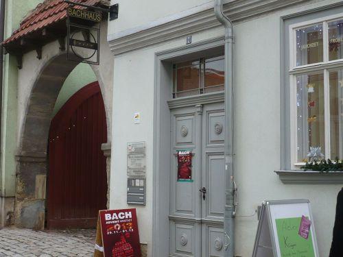 2013 Arnstadt Advent-Impressionen Bachhaus