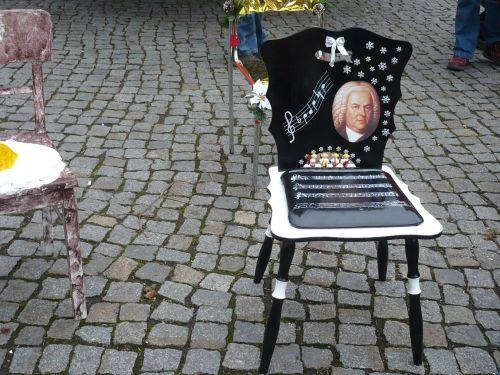 2013 Arnstadt Advent-Impressionen 03_4 Stuhl f Bach