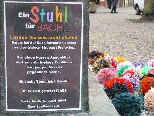 2013 Arnstadt Advent-Impressionen 03_1 Stuhl f Bach