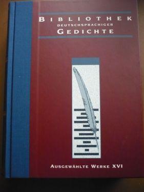 Bibliothek dtschspr. Gedichte 2013_Band XVI_BuchAnsicht