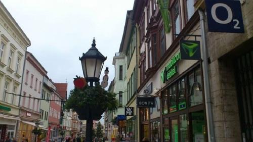 Stadt MÜHLHAUSEN  Steinweg Adventsstimmung
