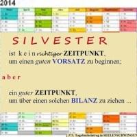 31.12.13 # Meine GEDANKEN zu SILVESTER #