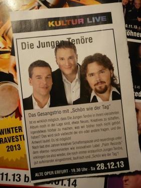 2013.12.28 Alte Oper - Die Jungen Tenöre
