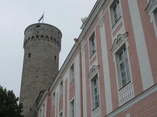 Tallinn _ Langer Hermann u. Parlamentsgebäude