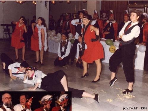 FaCeDu_Showtanz vorm Elferrat-1994
