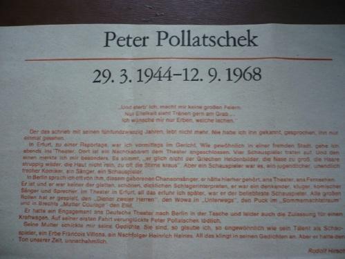 Zum Tod von Peter Pollatschek 1968 _ 01