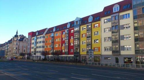 Juri-Gagarin-Ring _ Sanierte KoWo-Häuser 2