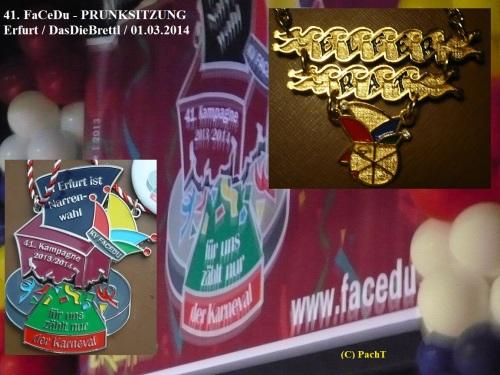2014.03.01 41.FaCeDu-PrunkSitzung 01 Eröffnung