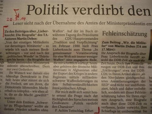 PachT in PresseTA_Leser-Seite 2014.03.20_Biografie ChrLkn