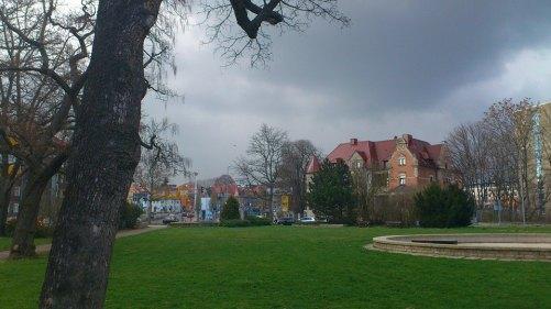 Benaryplatz mit Benary-Villa