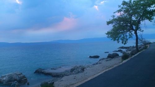 040 Njivice Insel Krk Abendstimmung 1