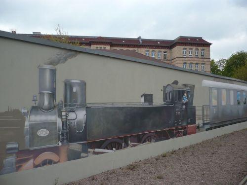 Trommsdorfstraße Grafitti