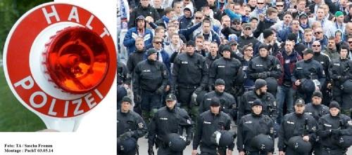 PolizeiEinsatz 2 Fußball EF 03.05.14 Foto S. Fromm