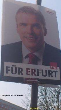 2014 01 Das 1. SPD-Plakat - namenlos - wirft FRAGE auf