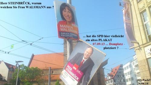 2014 04 Steinbrück weicht aus, er hats gemerkt_ SPD CDU