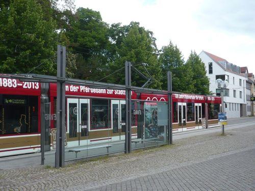 Theaterplatz Stadtbahn-Stopp