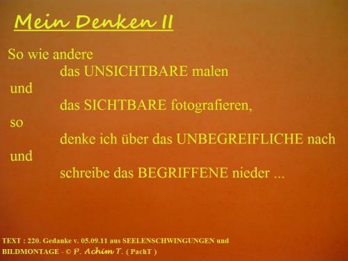 SSW220.Gedanke_MeinDenken II