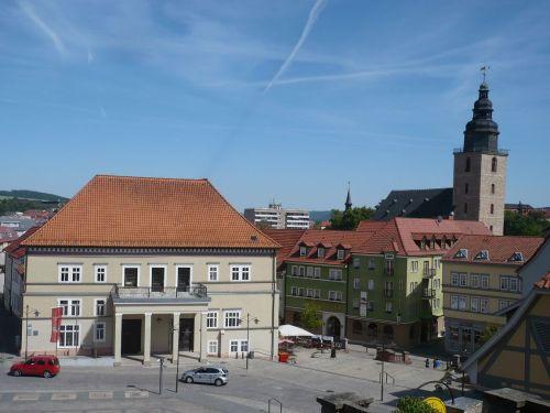 Sondershausen 31 Blick auf den Marktplatz