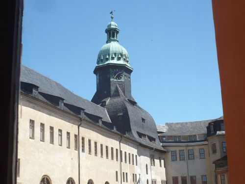 Sondershausen 12 Schlosshof