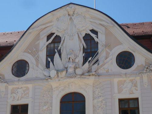 Sondershausen 07 Schlosshof Fassade
