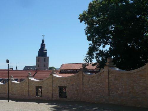 Sondershausen 03 SchlossAufgang