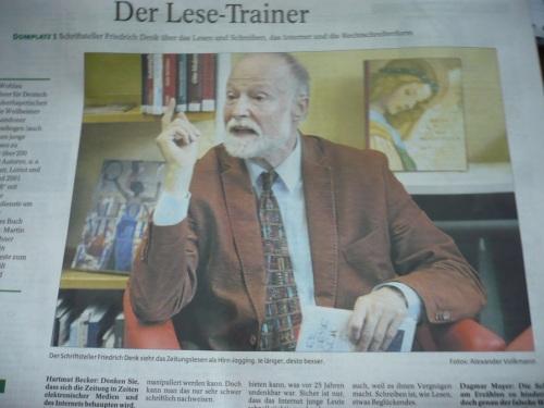 07 Der Lese - Trainer - Friedrich Denk