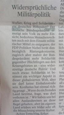 PachT in PresseTA_Leser-Seite 2014.07.03_Militärpolitik