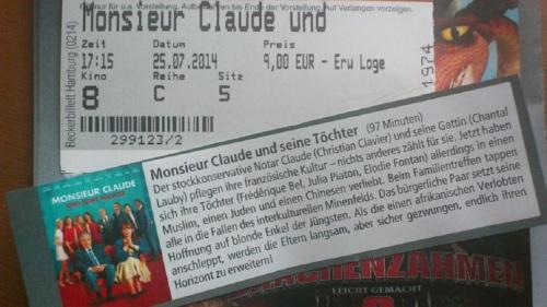 2014 Film Monsieur Claude und seine Töchter