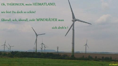 Windräder - so schön