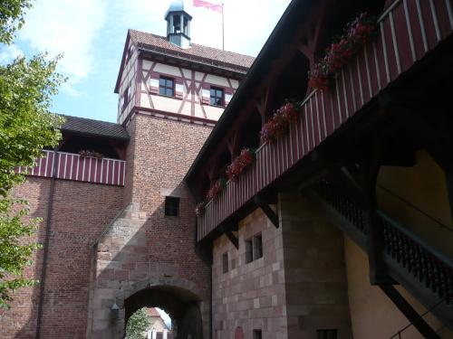 Nürnberg 094 Die Kaiserburg
