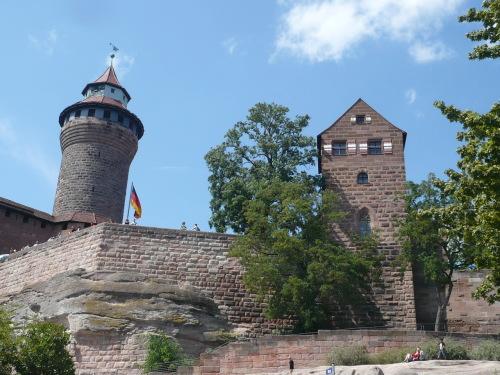 Nürnberg 085 Die Kaiserburg