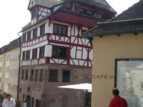 Nürnberg 049 Altstadt-Impression_A.-Dürer-Haus.